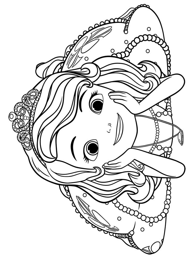 Prenses Sofia 9 ücretsiz Boyama Resimleri