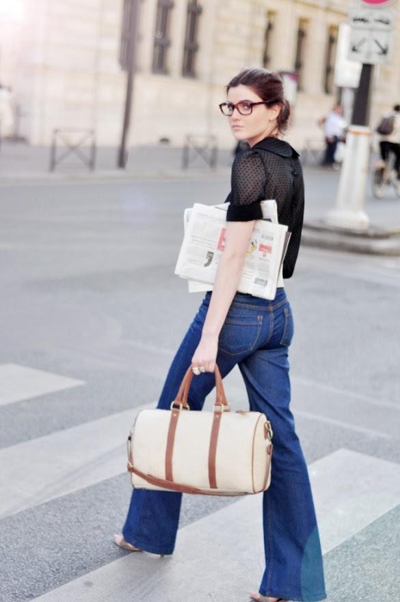 [Style] Jeans & black shirt.