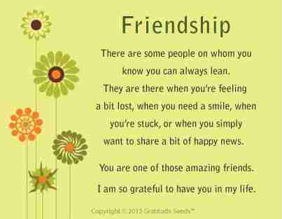 Friendship Card