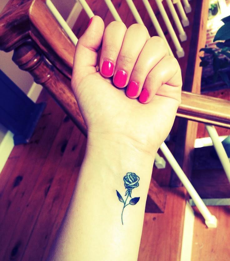 Rose Tattoo Small Ink On Wrist Tattoomagz