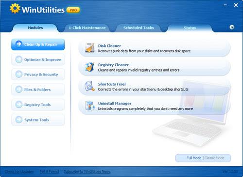 WinUtilities Pro 10.65 Datecode 08.09.2013