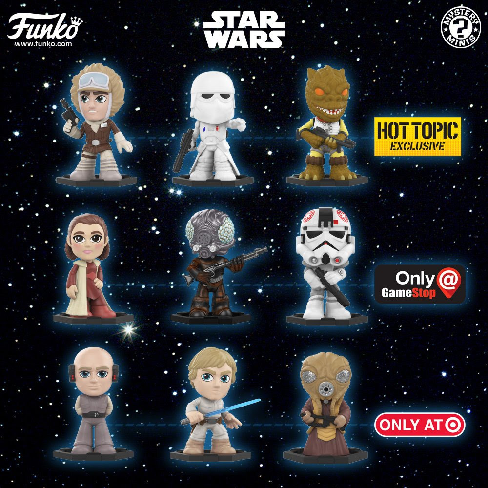 The Empire Strikes Back Mystery Minis HUGE Unboxing | Anakin and His Angel