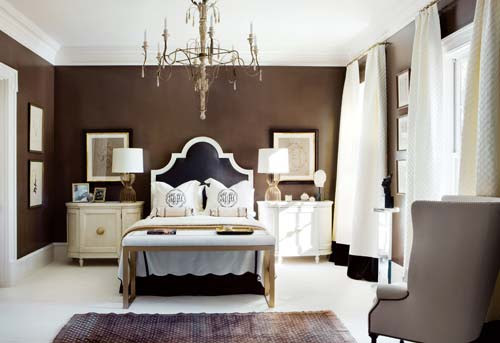 Color+Inspiration: Chocolate brown+White | creamylife blog