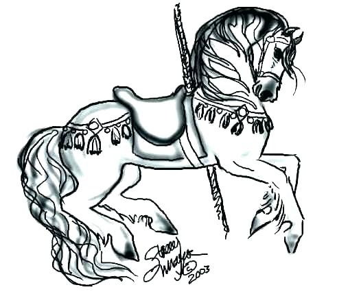 coloring pages for adults horses at getcolorings
