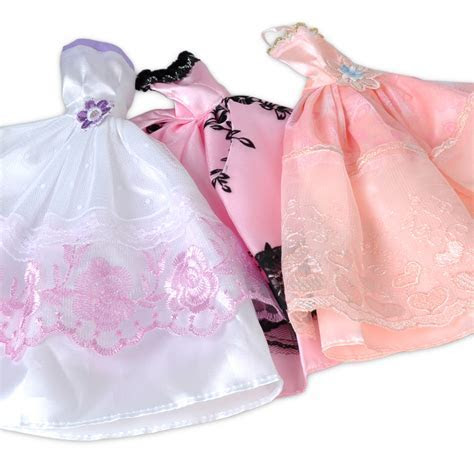 5 Pack Princess Wedding Dress Party Dress/Clothes/Gown