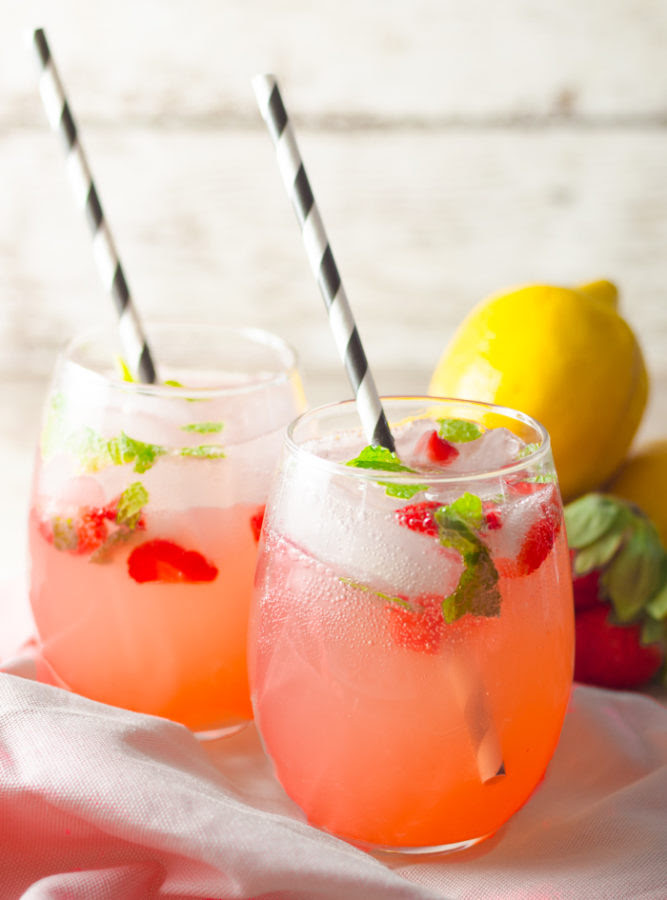 Strawberry Mint Lemonade | Quirky Inspired