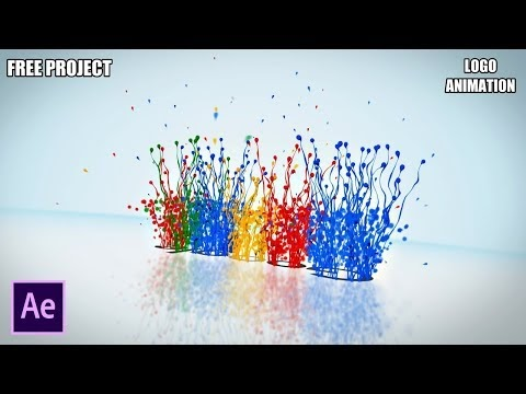 After Effects Tutorial Stylish Particular Splash Logo (Project Free Download)