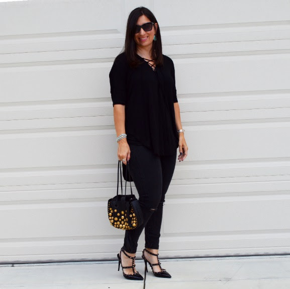 girls night out outfit  bay area fashionista