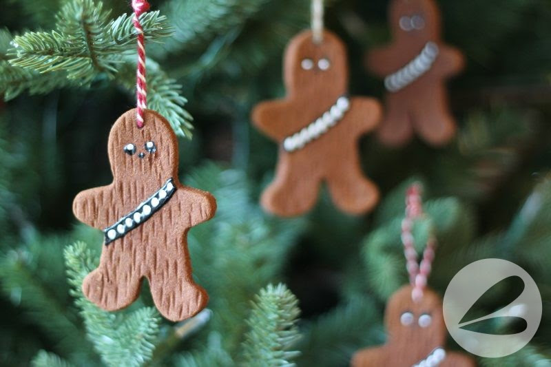 Apple Cinnamon Chewbacca Ornaments