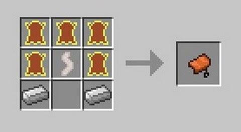 как делать седло в майнкрафте 1.9. #9