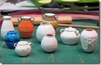 Miniature Paper Pottery