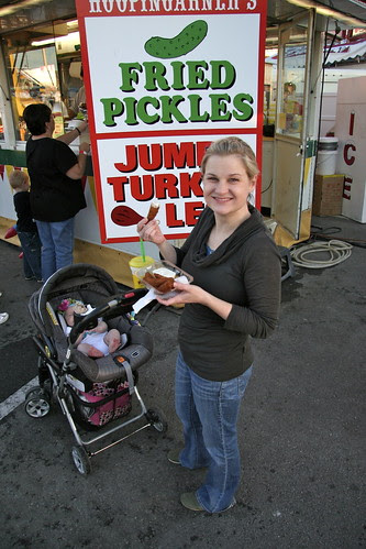 Fried Pickles at the Tulsa State Fair