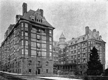 Hotel Portland, since demolished