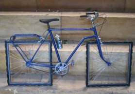 Square Wheels on Cycle