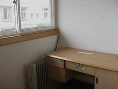 X's desk, 2009