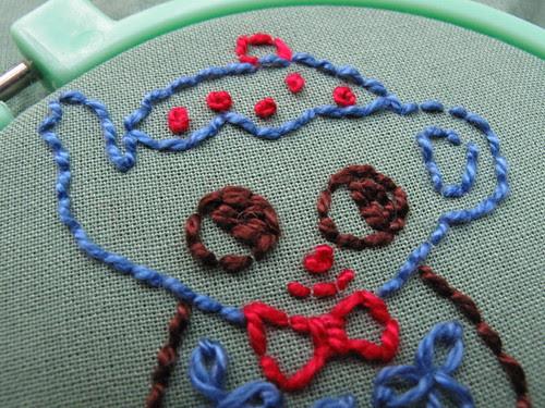 misako mimoko teapot embroidery.