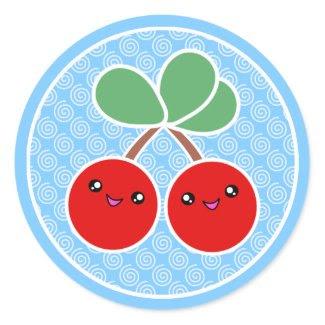 Cheery Cherries Kawaii Stickers sticker