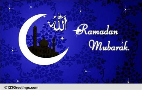 Holy Month Of Ramadan  Free Religious Blessings eCards