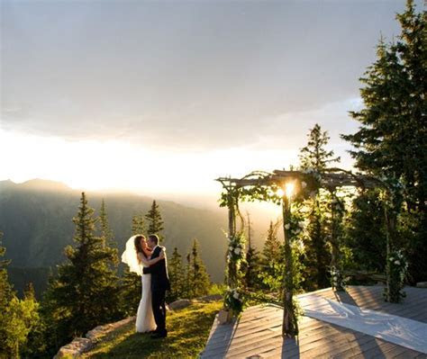 The Wedding Deck at The Little Nell in Aspen, Colorado   I