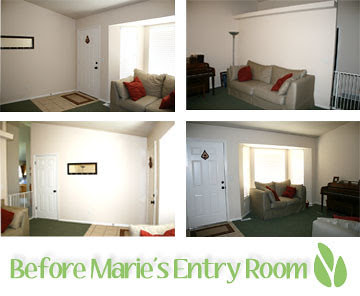 Marie Before Entry Room