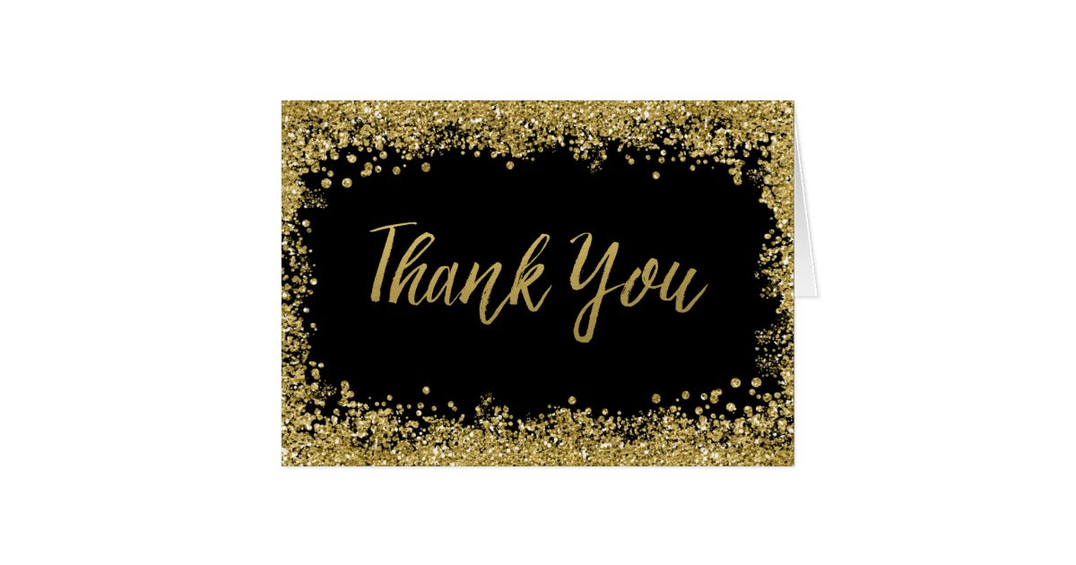 black_faux_gold_glitter_thank_you_card re6d5b1c5ef36446f9aa23e109de55bd0_xvua8_8byvr_630