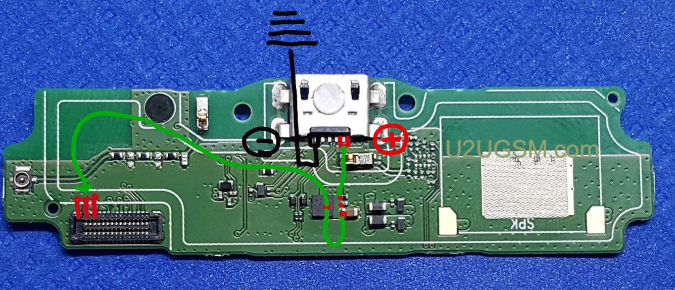 Redmi 5A Charging Solution Jumper Problem Ways