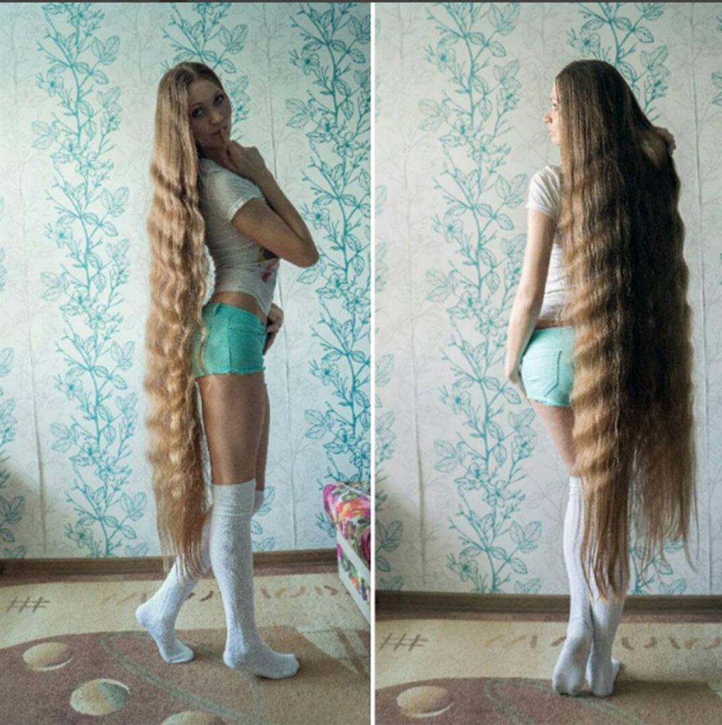 A rapunzel da vida real não corta os cabelos há 13 anos 01