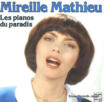 MATHIEU, MIREILLE les pianos du paradis