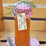 Peach and Rosemary Jam