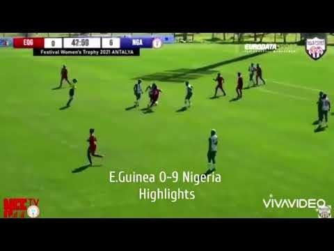 [Goals Highlight] Super Falcons 9 – 0 Guinea (Watch Here)