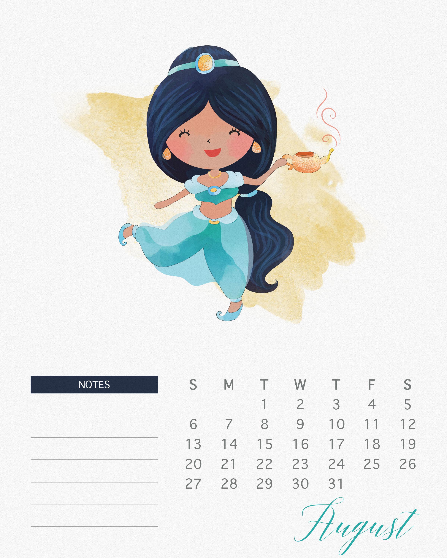 TCM Princess Calendar 8 August