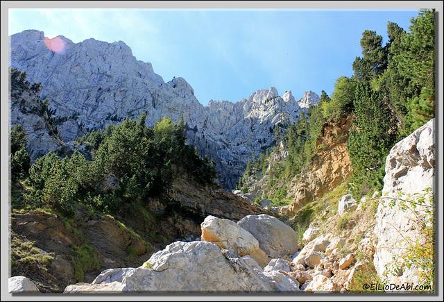 6 Subida hacia Pedraforca