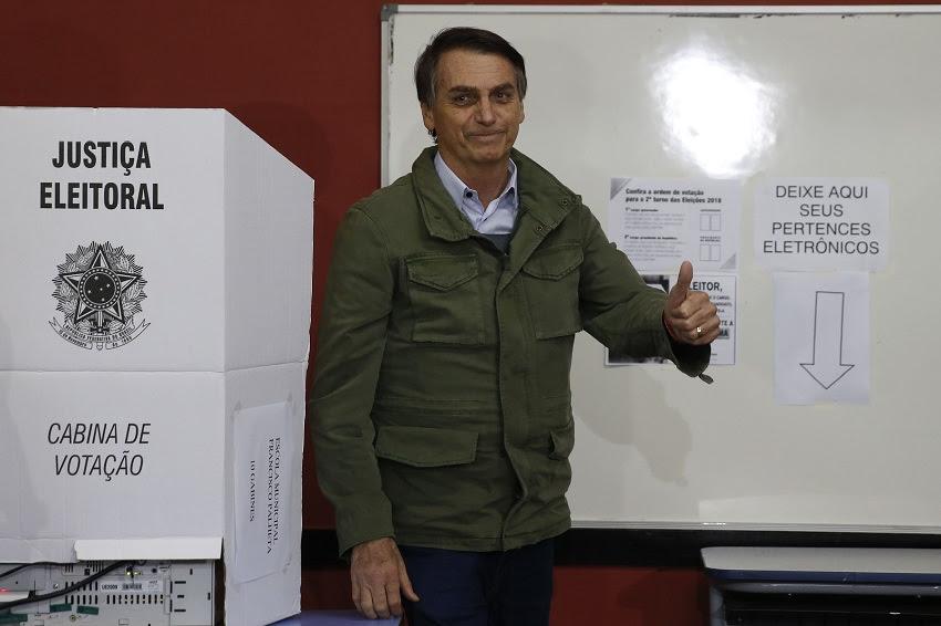 Jair Bolsonaro foi eleito o 38° presidente do Brasil. (Foto: Tânia Regô/Agência Brasil)