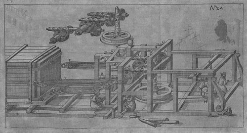 Heinrich Zeising - Theatri machinarum Erster - 1613 e
