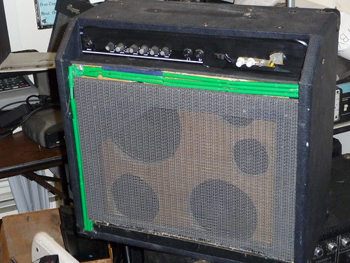 Frankenstein Guitar Amp Build