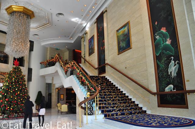 Island Shangri-La Lobby Stairs