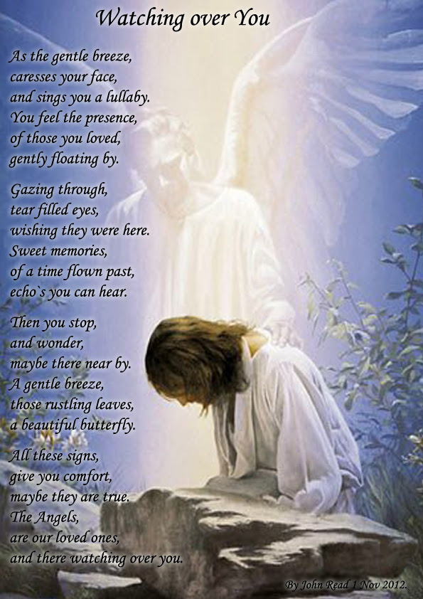 Watching Over You Spiritual Poetry
