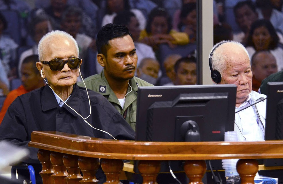 Tribunal internacional mantém prisão perpétua a líderes do Khmer Vermelho (Foto: Nhet Sok Heng/Extraordinary Chambers in the Courts of Cambodia/AP)