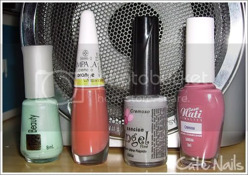 Cute Nails: Esmaltes Top Beauty, Impala, Sancion Angel e Passe Nati