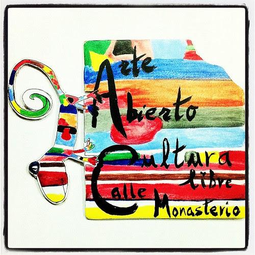 ARTE ABIERTO - CULTURA LIBRE EN LA CALLE MONASTERIO - K-MALAEON 2013 by juanluisgx