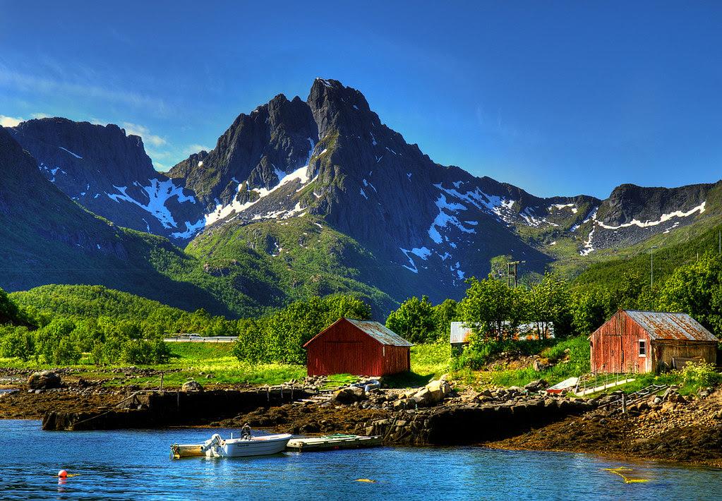 ''Postcard'' from Lofoten