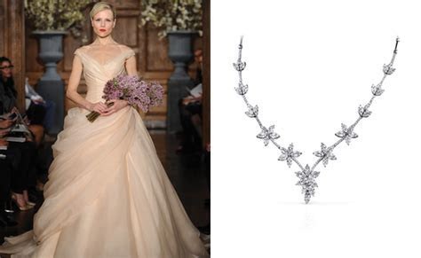 Best Necklace for V Neck Wedding Dress   Summer Collection