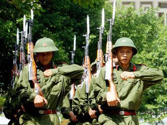 Вьетнамские военнослужащие. Фото Reuters