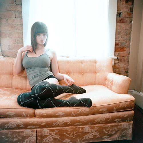 mattbellphoto: Rebecca Gatta - B&W