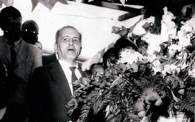 Serviços de inteligência da ditadura militar acompanham o líder Luis Carlos Prestes, líder do Partido Comunista Brasileiro. Foto: Arquivo Brasil Nunca Mais