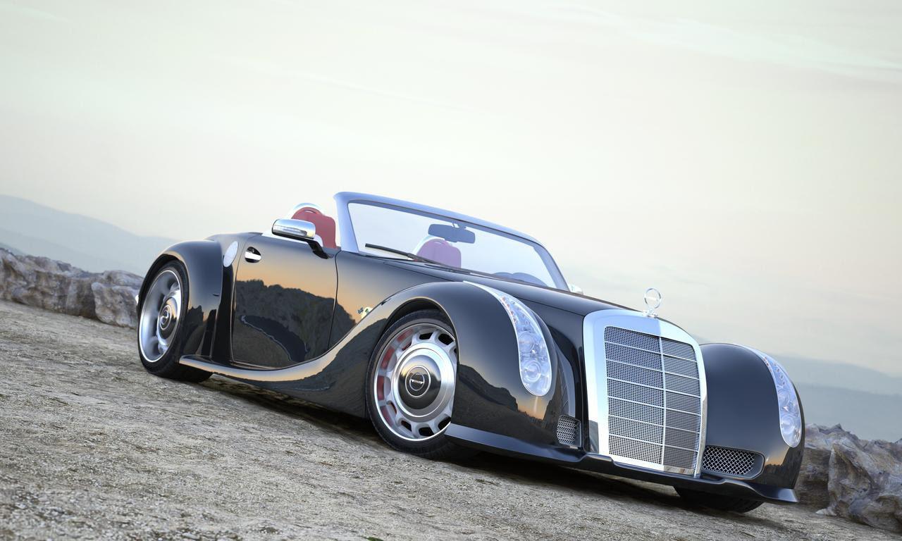 Mercedes-Benz GWA 300 SLC. автомобили, эксклюзив