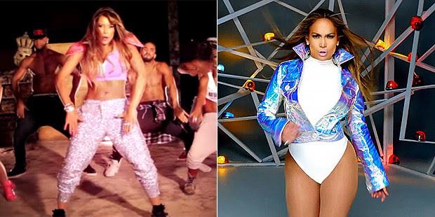 KArol Ka e Jennifer Lopez são comparadas por fãs (Foto: Reprodução)