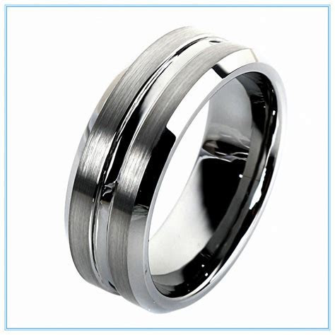 Tungsten Carbide Wedding Bands: Perfect Options for those