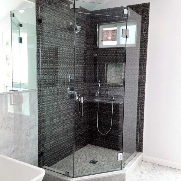 Top 60 Best Corner Shower Ideas - Bathroom Interior Designs