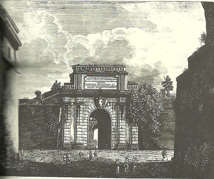 File:Porta san Pancrazio Rossini.jpg